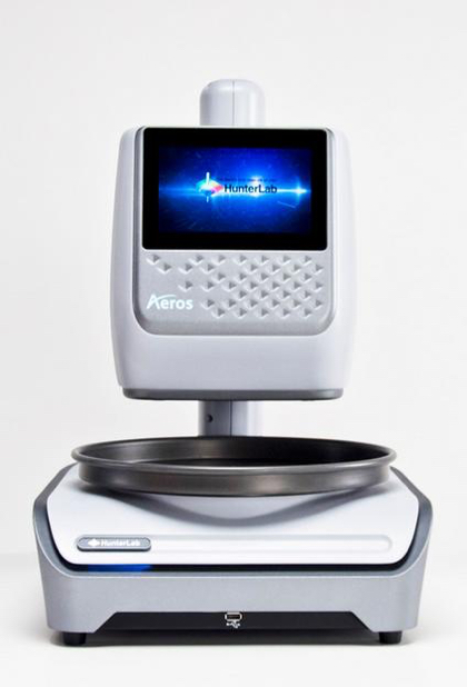 the Aeros smart spectrophotometer