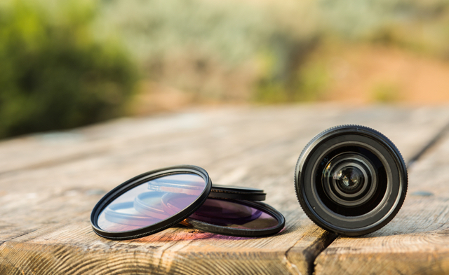 color lens filters with camera