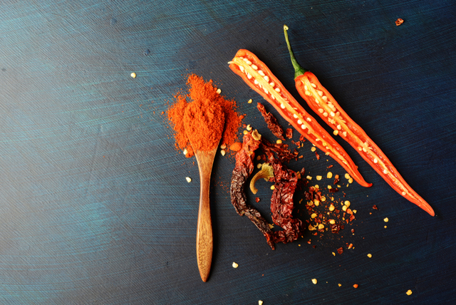 measuring the color of spices