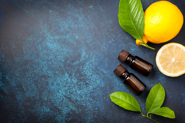 measuring color essential oils