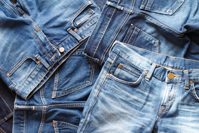 color variation in denim jeans
